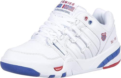 K-Swiss Womens SI-18 International Sneaker, White/Classic Blue ...