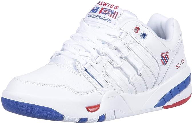 K-Swiss Womens SI-18 International Sneaker, White/Classic ...