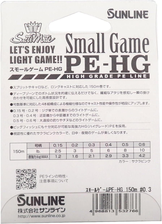 10lb 2797 Sunline P.E Ligne Small Game High Grade 150m P.E 0.6