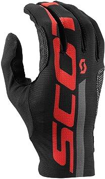 Scott RC Premium Protec bicicleta guantes de largo Negro/Naranja ...