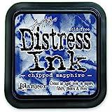 Ranger DIS-27119 Tim Holtz Distress Ink Pad, Chipped Sapphire