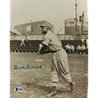 $41 » Signed Buck Leonard Picture - Homestead Grays Negro Leagues 8x10 BAS 27124 - Beckett Authentication - Autographed MLB Photos