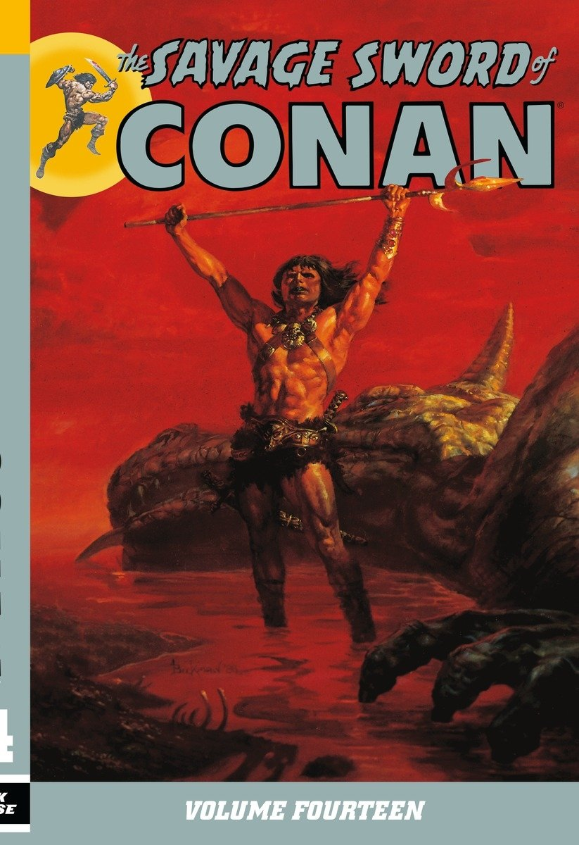 The Savage Sword of Conan Volume 14 pdf epub