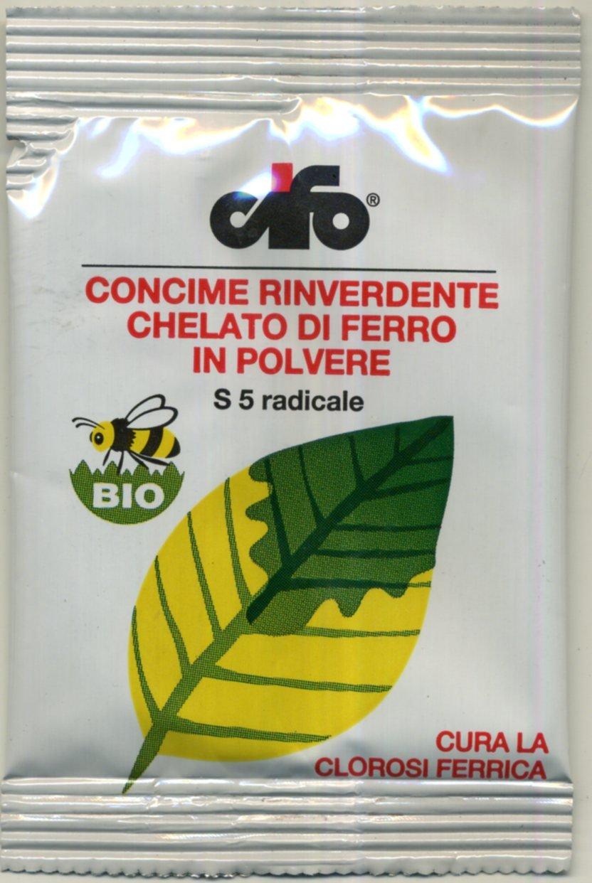 Abono reverdecedor de hierro en polvo S5 radical para plantas: Amazon.es: Jardín