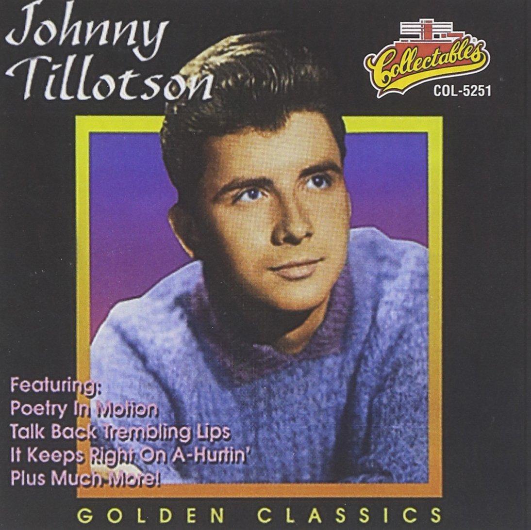 CD : Johnny Tillotson - Golden Classics (CD)