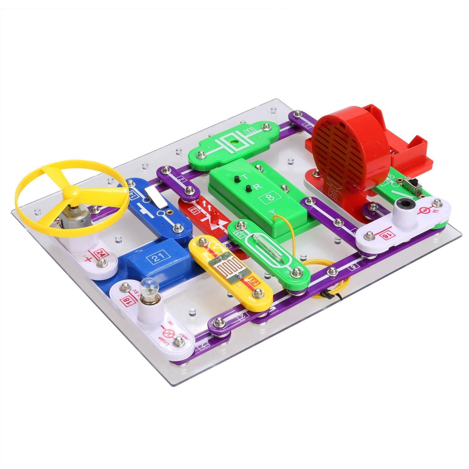 Garain Diy Circuits Smart Electronics Discovery Kit Snap Pro Sc500 Educational Science Toy For Childrenus Stock Toys Games