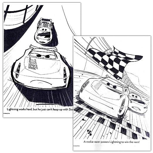 Amazon Disney Cars Coloring Book Set 2 Books Featuring Lightning McQueen