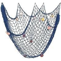 Chytaii Decorativa Red de Pesca Náutica Decorativa Adorno