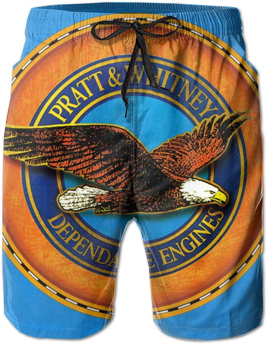 T Engines Mens Swim Trunks Bathing Suit Beach Shorts e American J
