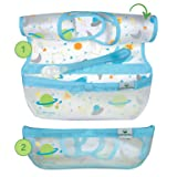 Snap & Go Wipe-off Bibs (3 pk) |  Waterproof