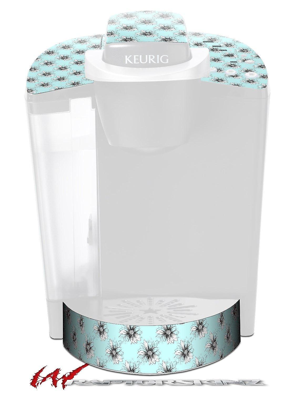 kearasデイジーシーフォーム – デカールスタイルビニールスキンFits Keurig k40 Eliteコーヒーメーカー( Keurig Not Included )   B017AK3WMK