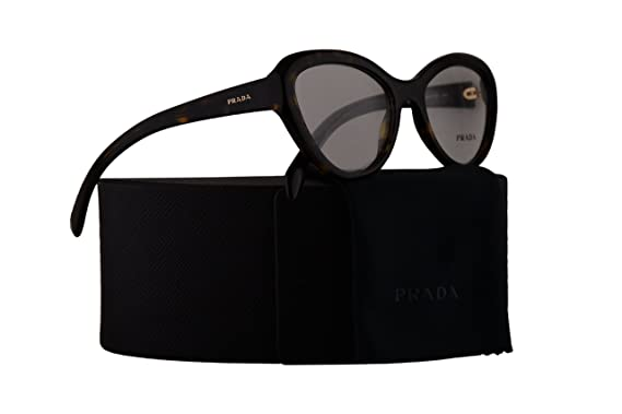 ff1fad70b89a Image Unavailable. Image not available for. Color  Prada PR25RV Eyeglasses  52-18-140 Havana w Demo Clear Lens ...