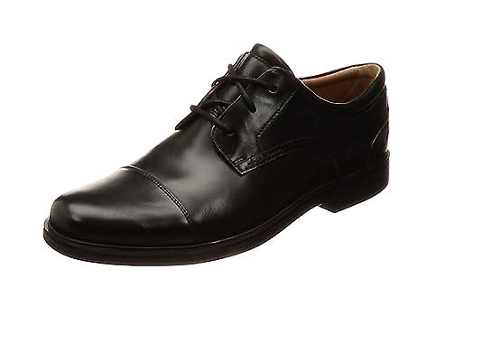 Clarks Un Aldric Cap, Zapatos de Cordones Derby para Hombre