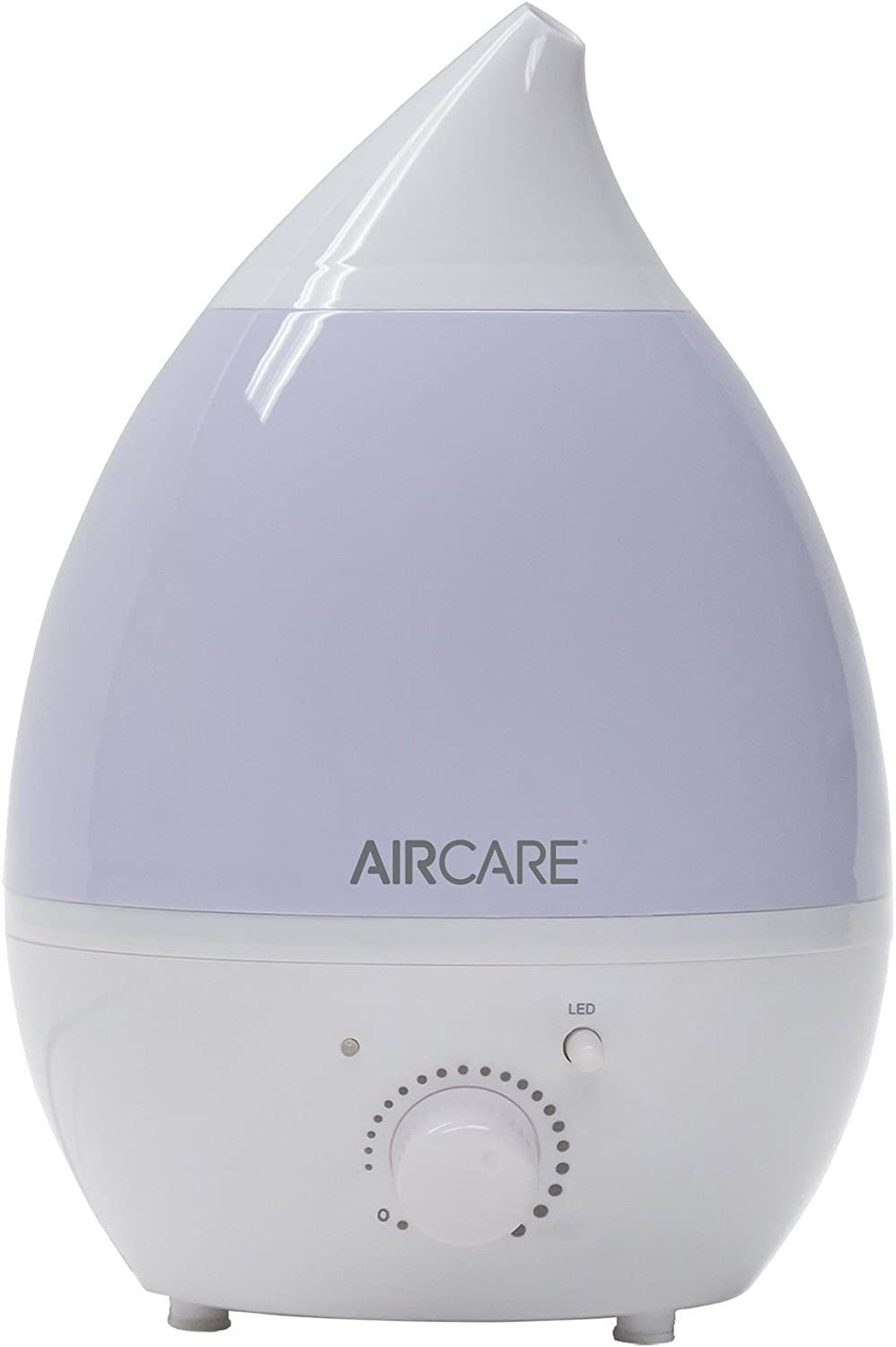 AIRCARE AUV20AWHT Aurora Ultrasonic Table Top Humidifier, 1 Gallon, White