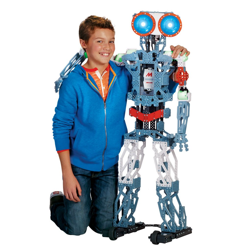 Meccano MeccaNoid G15KS 1243 Piece Robot Building Kit with Carrying Case by Meccano (Image #9)