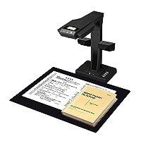 "CZUR Professional Document Scanner ET18-P, Fast Recognition Scanner, 18MP High Definition, A3 Size Capture, 186 Languages OCR, Patented ""Laser-Based Image Flattening"" Technology"