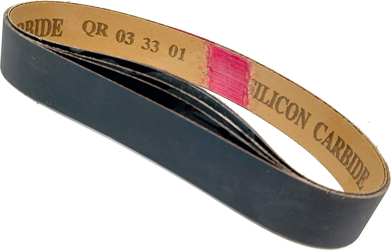 """5 pack Silicon Carbide fits Ken Onion Blade Grinding Attachment 1/""""X18/"""" 600 Grit Sanding Belts"""