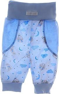 La Bortini 3//4 Hose Baby /& Kinder Schlupfhose 50-92 Babyhose Babyhose Capri Caprihose
