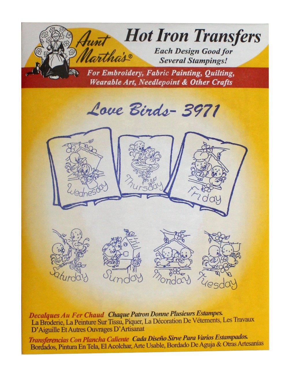 Amazon Aunt Marthas Iron On Transfer Patterns For Stitching