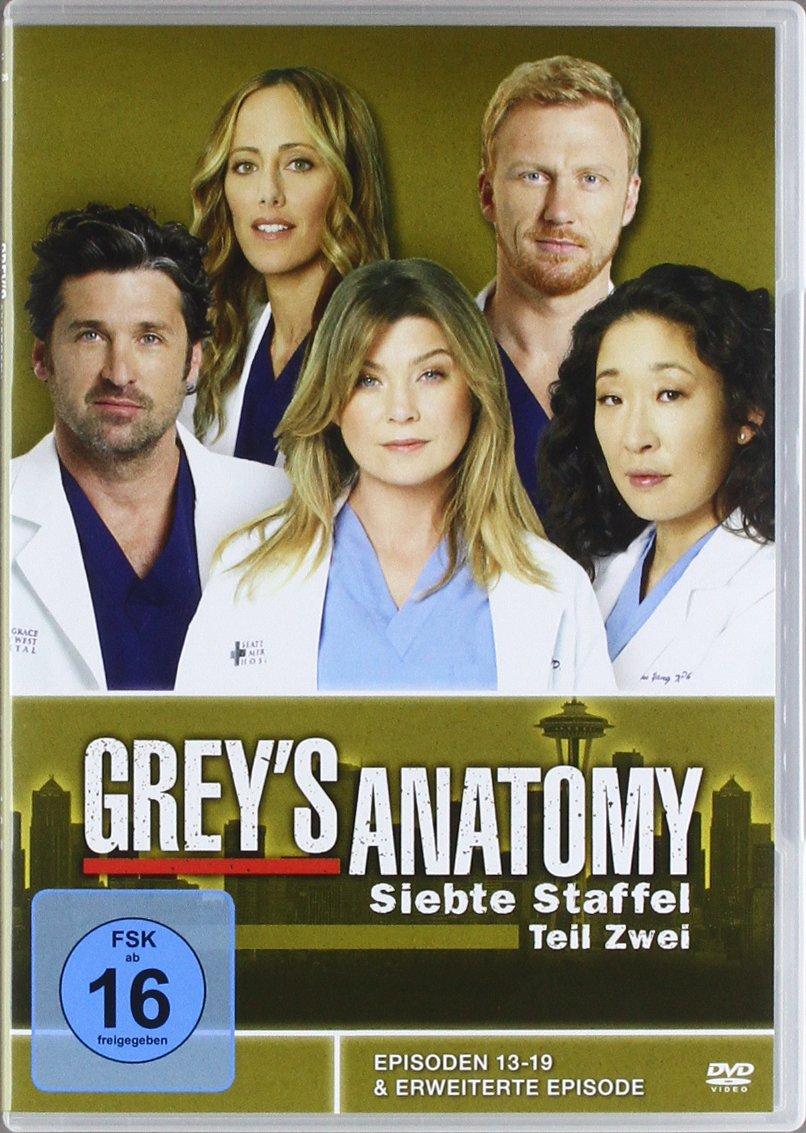Grey\'s Anatomy: Die jungen Ärzte - Siebte Staffel, Teil Zwei 3 DVDs ...