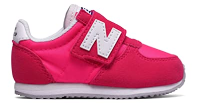 Details about New Balance Kids KL 574 Sneaker Red White Infant Size 3 Wide US