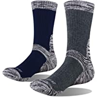 YUEDGE Mens Wicking Cushion Sports Hiking Trekking Athletic Socks