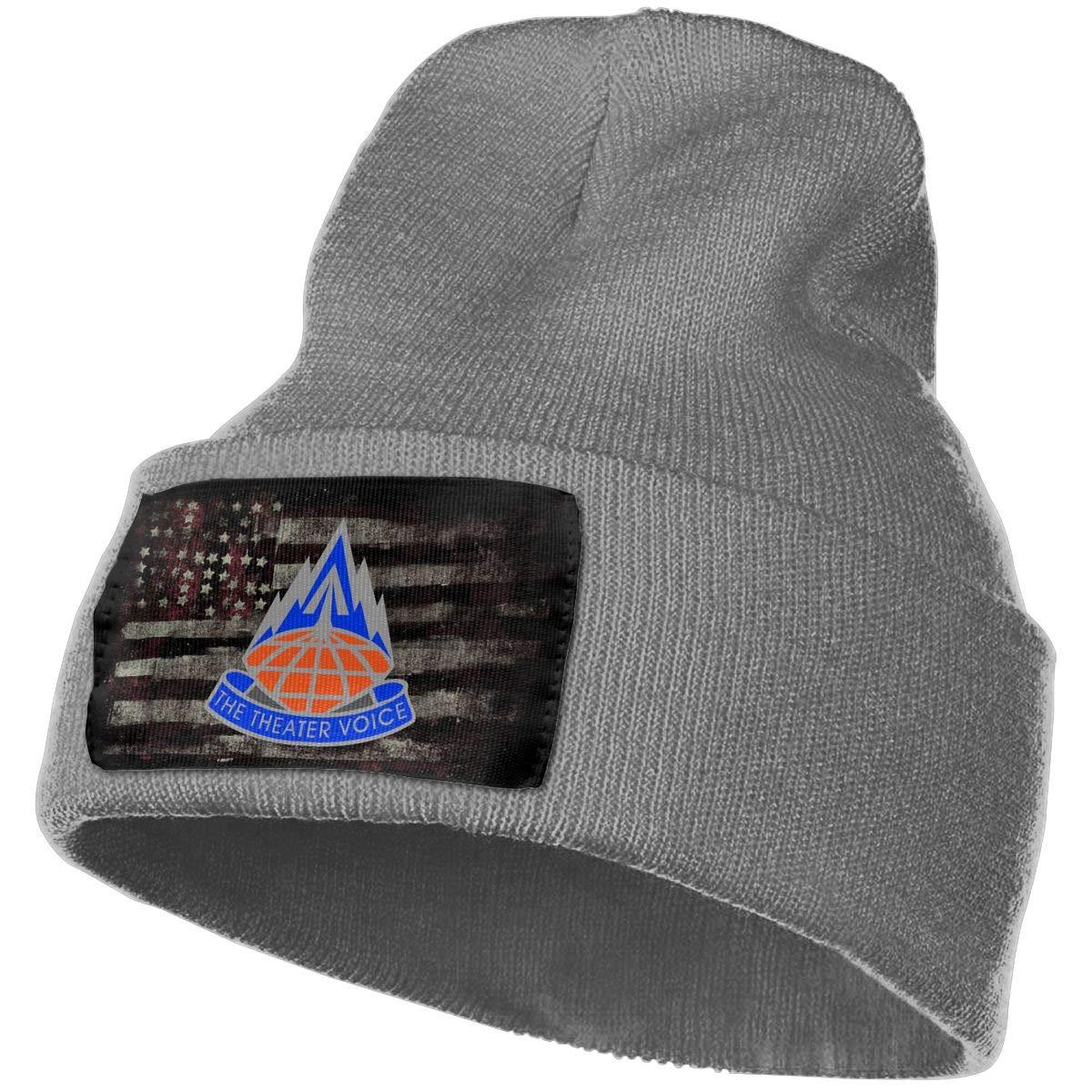 US Army 311th Signal Command Unit Crest Mens Beanie Cap Skull Cap Winter Warm Knitting Hats.