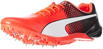 Puma Evospeed Electric Tricks, Chaussures d'Athlétisme Mixte Adulte, Rouge (Red Blast-Black White 01), 43 EU