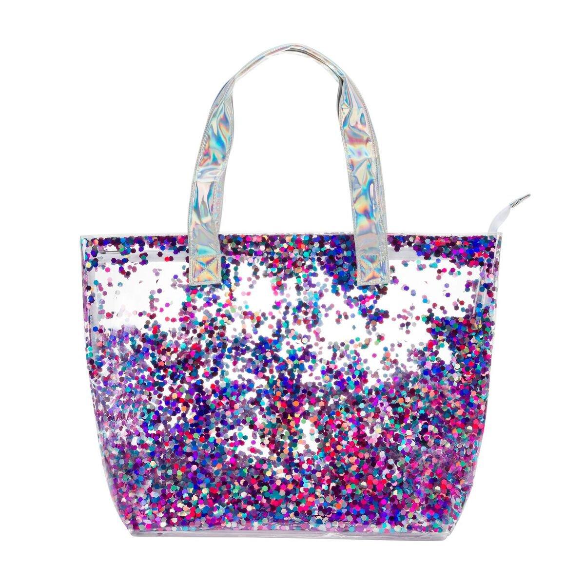 Multicolor 27124 3C4G Summer Vibes Glitter Confetti Tote