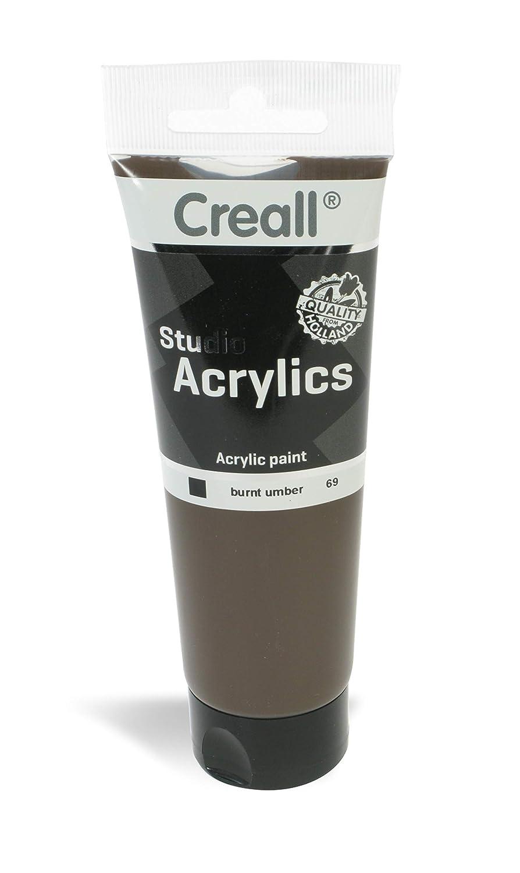 American Educational Products A-33769 Creall-Studio-Acrylics Tube 120Ml 69 Burnt Umber   B00UVAVZNK