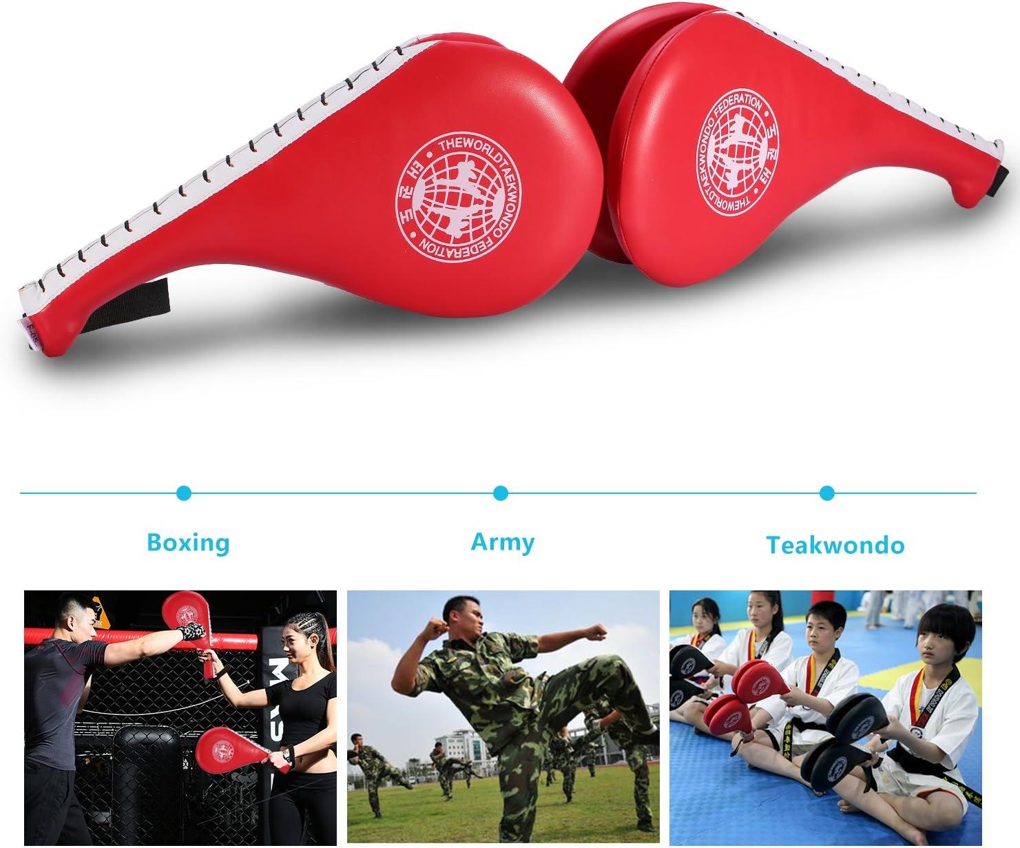 Langlebig Multifunktionaler Fu/ßtritt Target Punching Pad f/ür Muay Thai Boxing Karate Dioche Reflex Boxing Ball