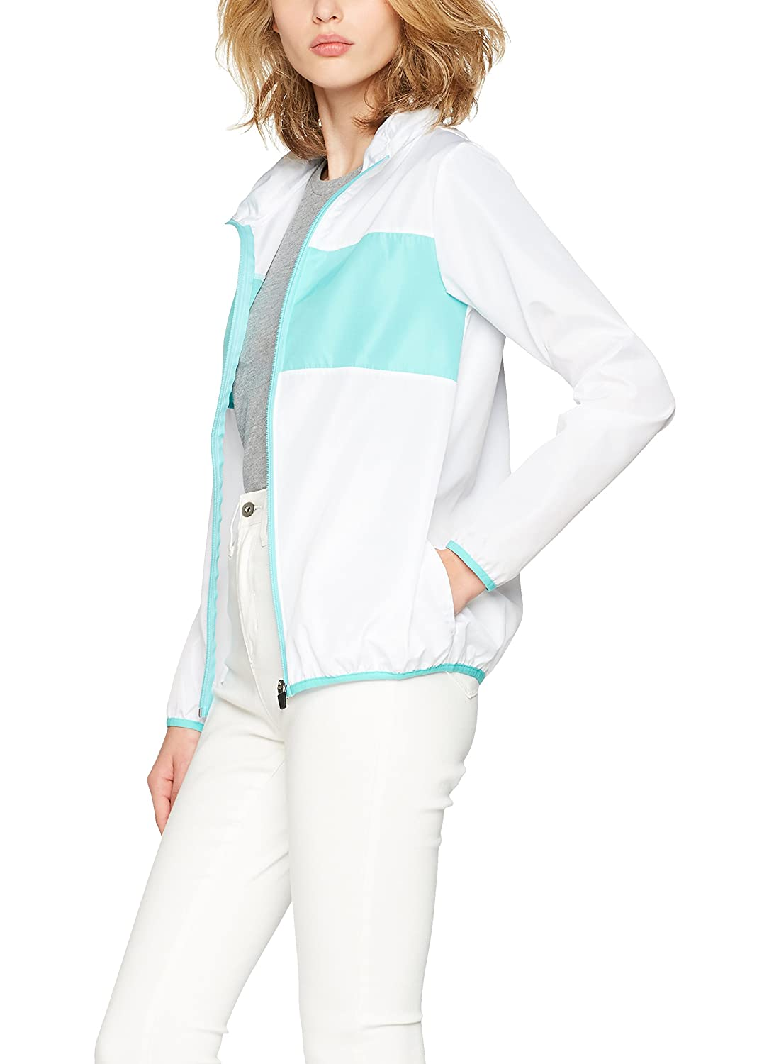 Iris & Lilly Women's Track Jacket Hooded with Long Sleeves SFP-1-l-8
