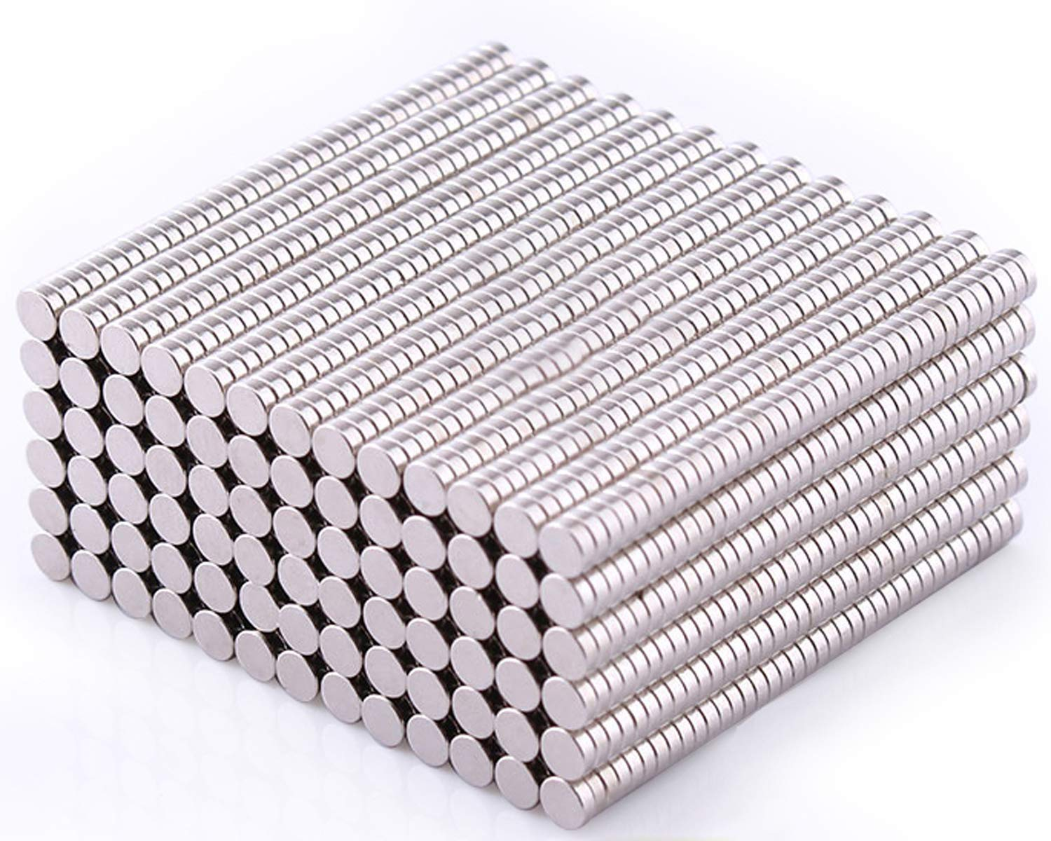 3 mm x 1 mm DIY Office Magnets for Fridge,Whiteboard,Craft,Project,Art - 300PIECES