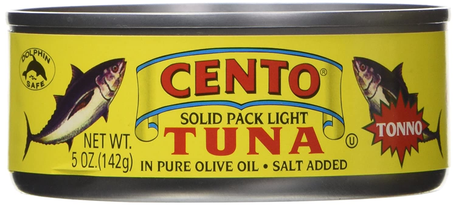 CENTO TUNA TONNO OOIL, 5 OZ (Pack of 12)