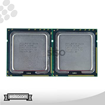 Intel Matching Pair Xeon X5650 6 Core Processor 2.66GHz 6.4GT//s 12MB Smart Cache Socket-1366 TDP 95W SLBV3 BX80614X5650