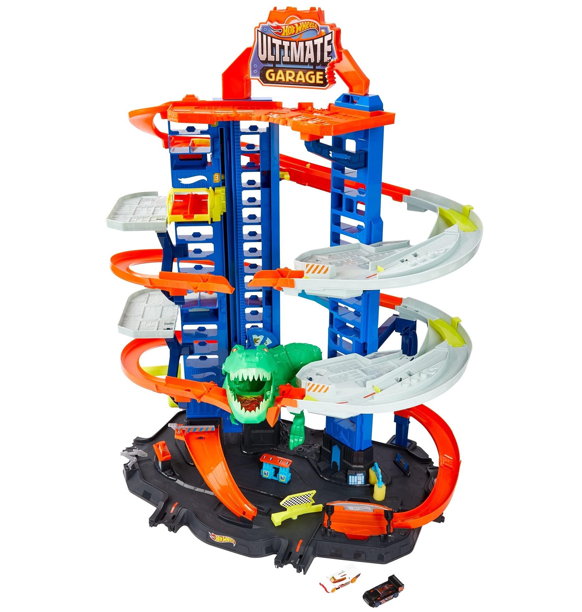Hot Wheels City Ultimate Garage, Chomping T-Rex