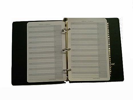 amazon com boorum pease p8 telephone address book gold lettered