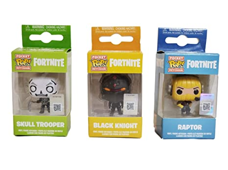Amazon.com : Fortnite Skull Trooper Black Knight Raptor ...