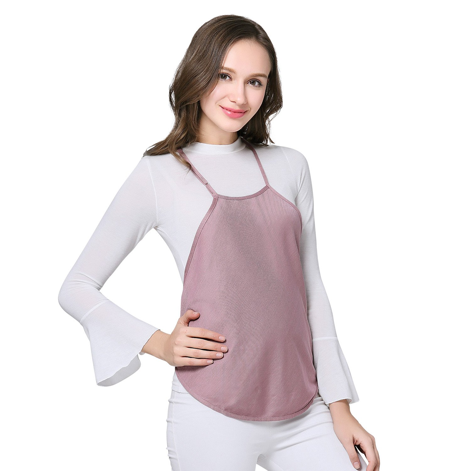 d683af90815 ... JOYNCLEON Anti-Radiation Maternity Clothes Belly Tee 100% Silver Fiber  Baby Mom Protection Shield ...