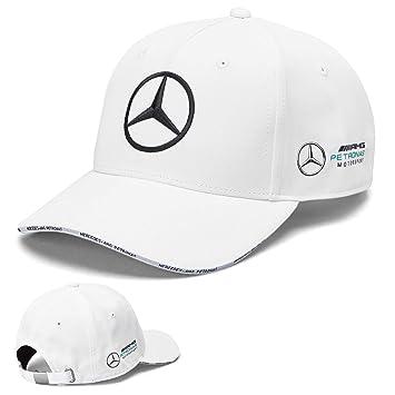 Whybee 2019 Mercedes-AMG F1 Fórmula 1 Gorra de Equipo Blanca para ...
