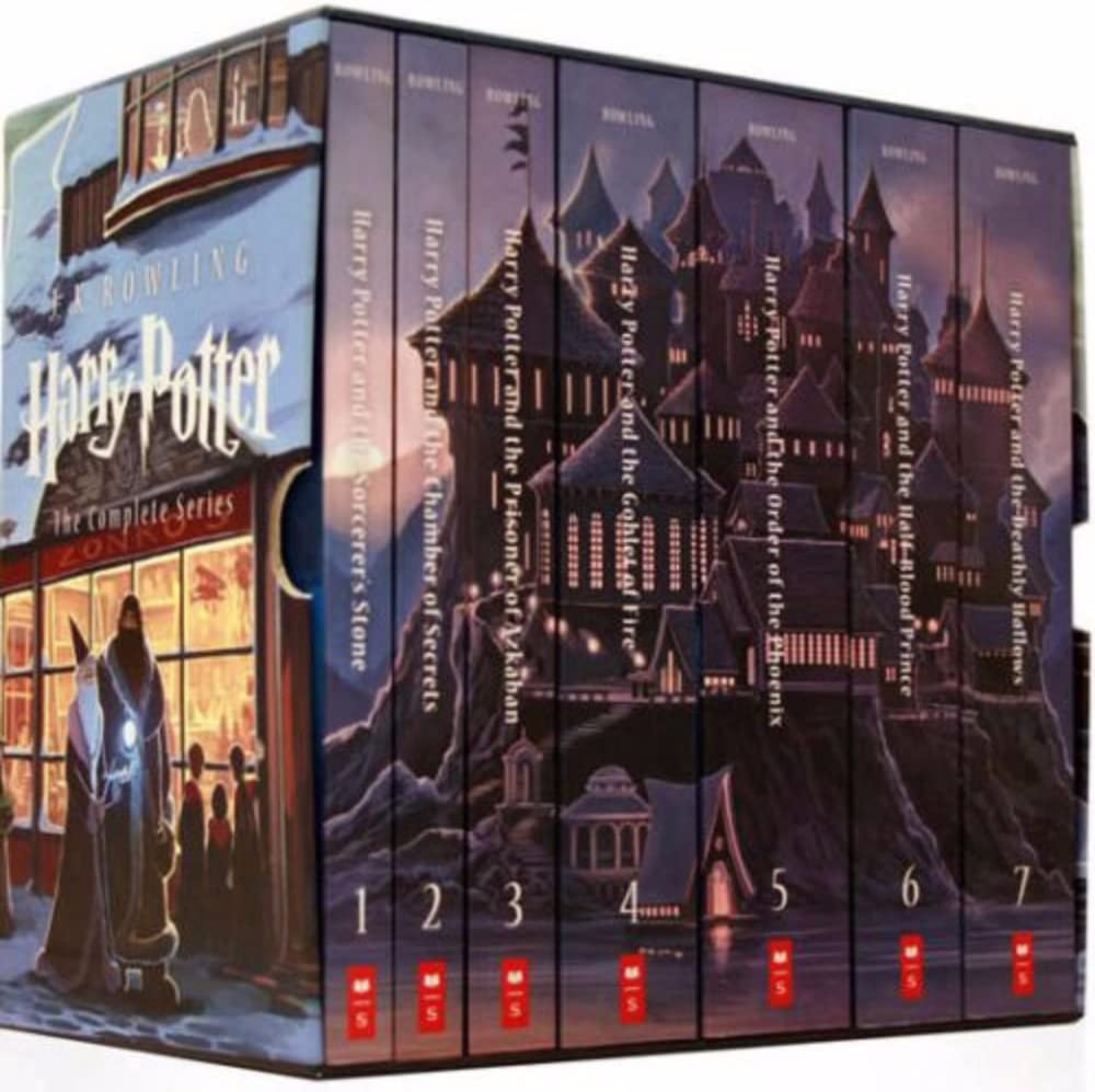 Amazon.com: Harry Potter Complete Book Series Special Edition Boxed Set by  J.K. Rowling NEW!: Toys & Games