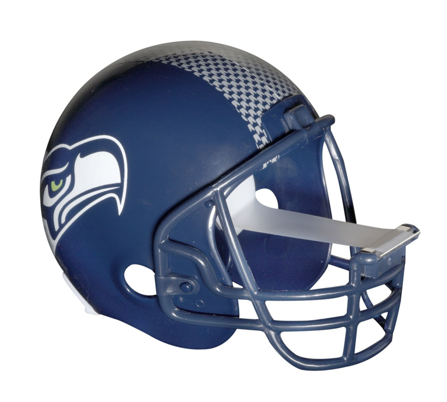 Scotch Magic Tape Dispenser, Seattle Seahawks Football Helmet with 1 Roll of 3/4 x 350 Inches Tape