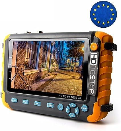 5MP 4MP AHD CCTV Tester Analog CVBS AHD TVI CVI Camera Tester Monitor UPT