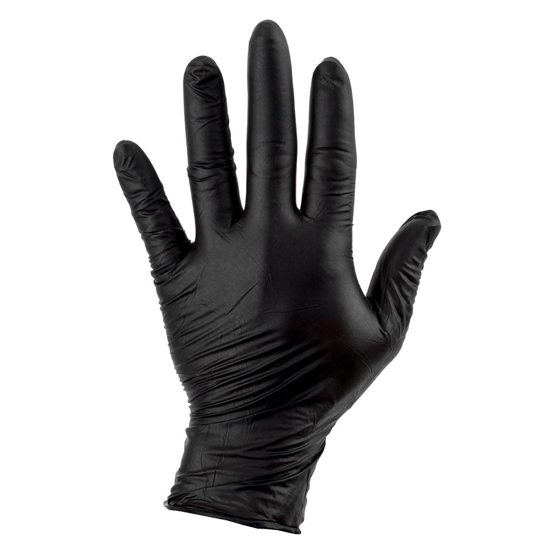 Sunlite Nitrile Gloves Medium Box of 100 Bike
