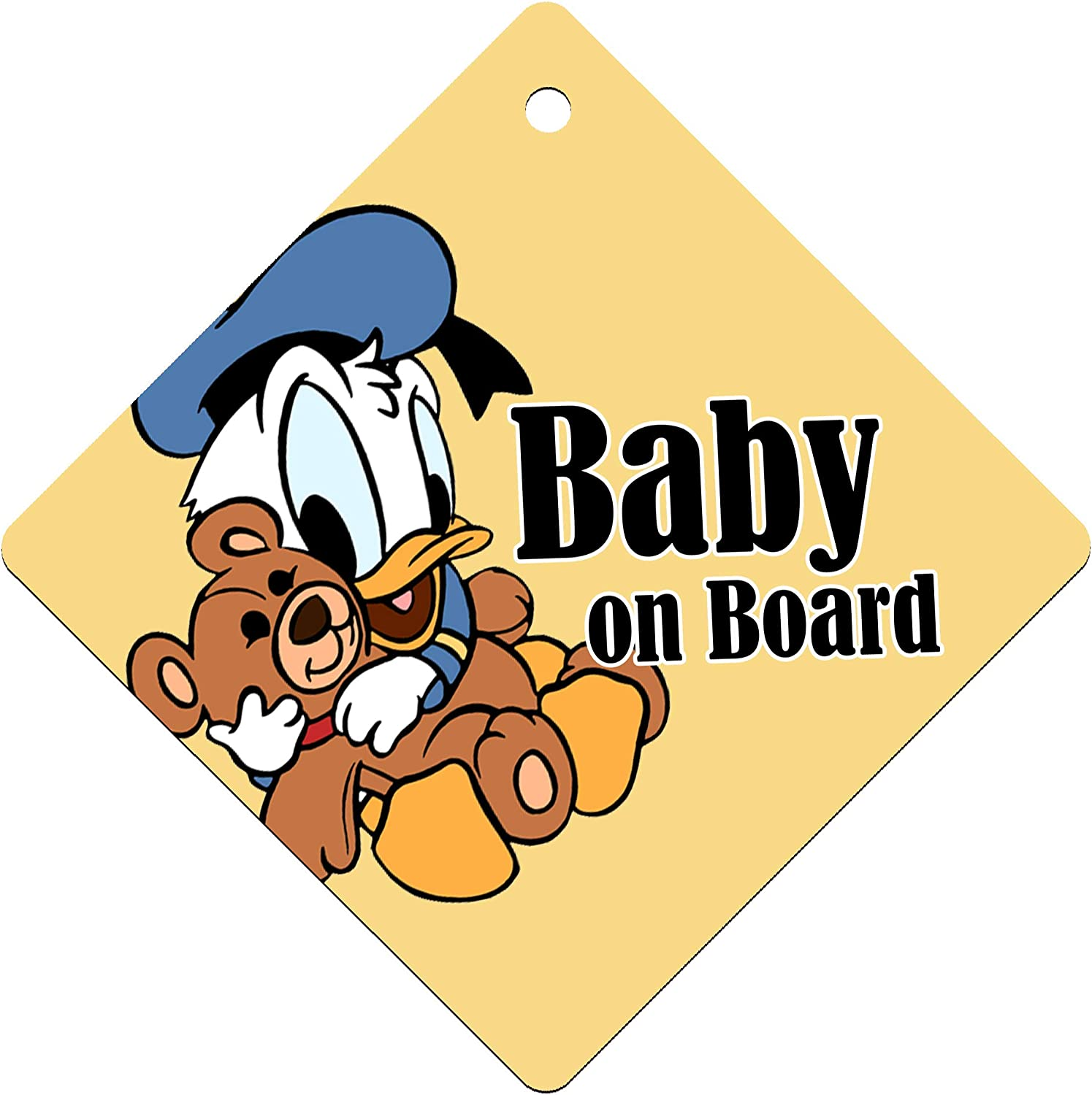 Baby on Board Kids Sign for Boys and Girls Single Sided with Suction Cup I-CHOOSE LIMITED Baby Car Windows Sign Sticker