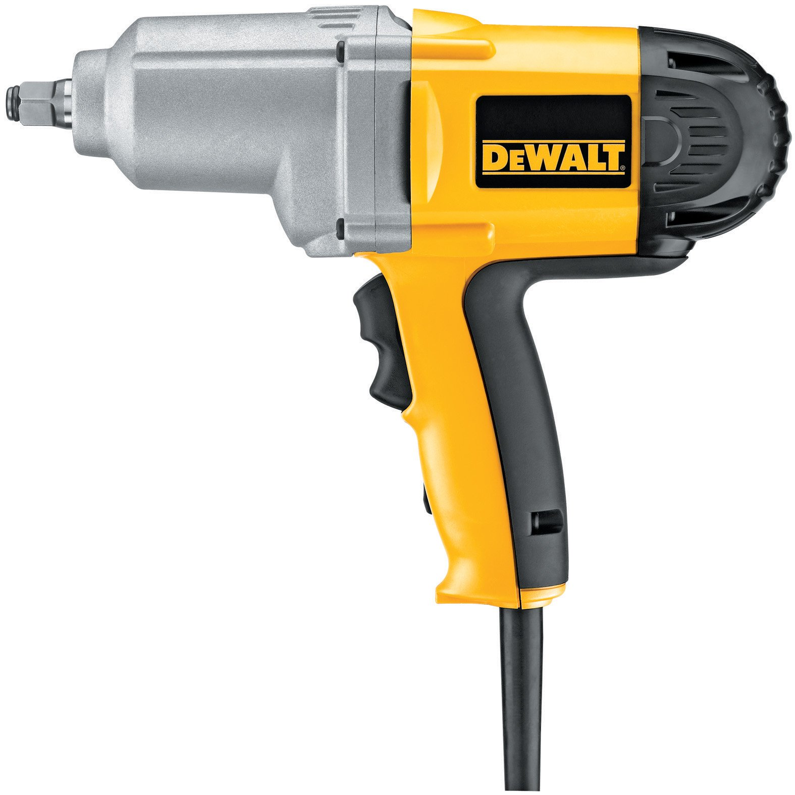 DEWALT DW293 7.5-Amp 1/2-Inch Impact Wrench with Hog Ring Anvil