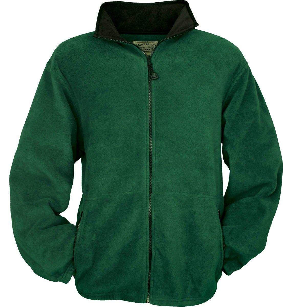Colorado Timberline Men's Telluride Fleece Jacket-L (Forest) by Colorado Timberline