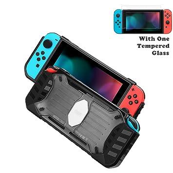 Funda para Nintendo Switch - BUBM Carcasa de Protección + ...