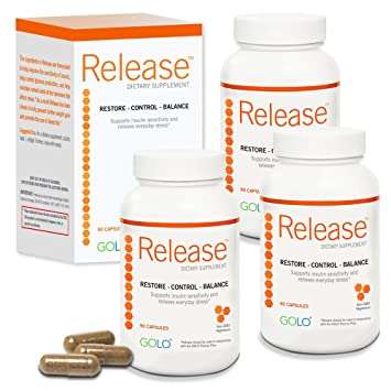 Amazon Com Golo Release Dietary Supplement 90 Day Supply Health