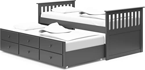 StorkCraft Marco Island Captain s Bed